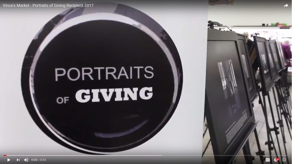 Portraits of Giving - Vince's Market Sharon Ontario