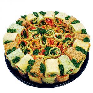 Vegetarian Wrap Platter-Vince's Market