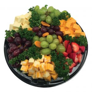 Fruit and Cheese Cubed Platter - RGB