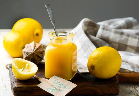 homemade zesty lemon mousse