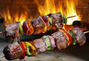 Fresh Shish Kabobs at Vince's Market - Fresh Butcher Local