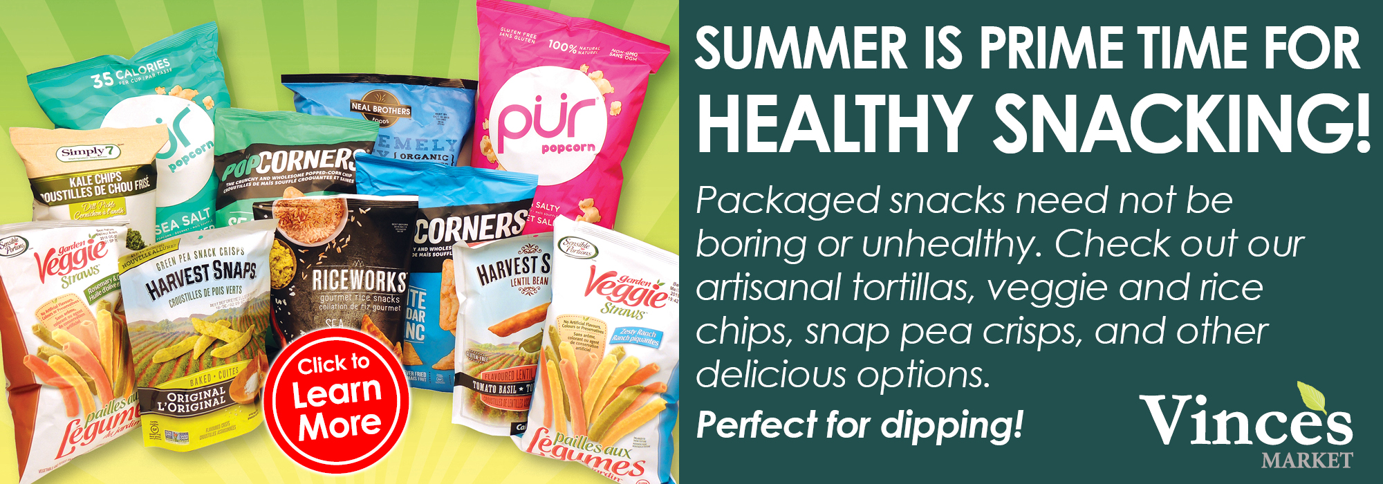 Healthier Snack Options - Gluten Free, Non-GMO, Dairy-Free, Sugar-Free, Baked Snacks