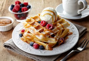 national food day waffles vince's market grocer york region