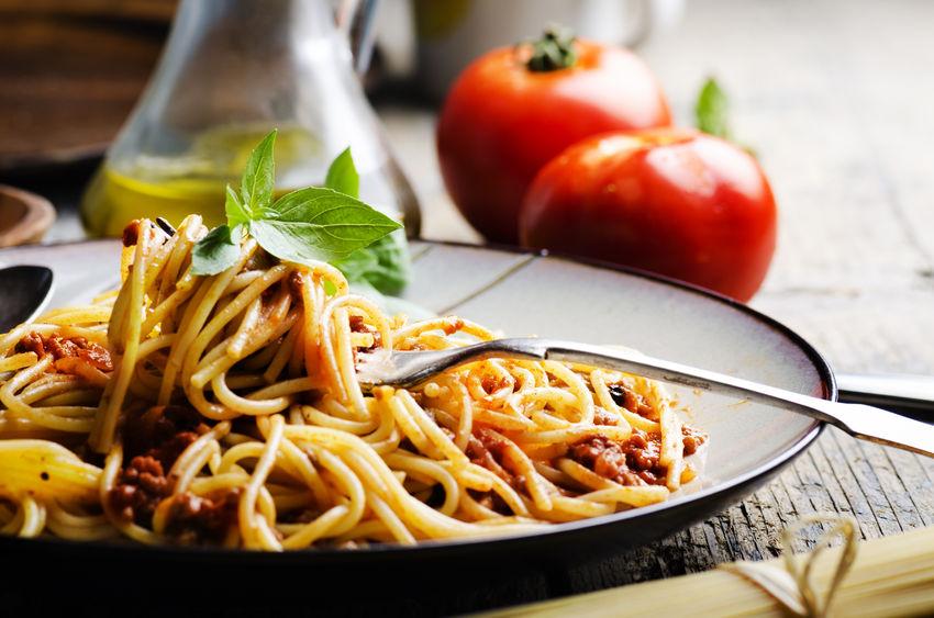 comfort food - pasta